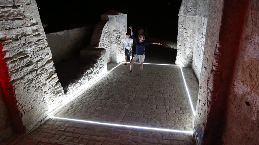 Cube de lumière - Citadelle  de Bonifacio
